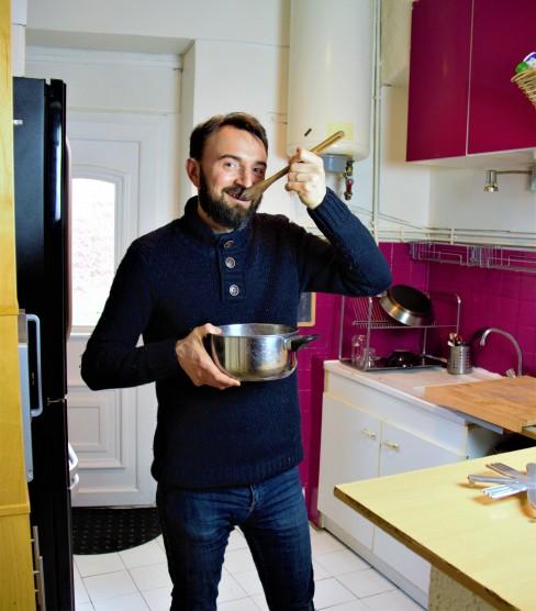 olivier - monsieur sardine - cuisine, famillesardine.com, la famille sardine, vie minimaliste, slow life, zéro déchet, zero waste