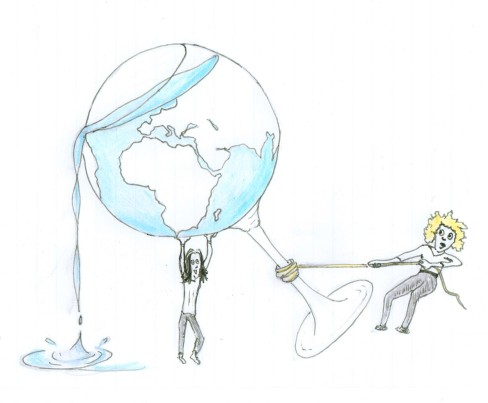 planète terre, verre à moitié plein, protection de l'environnement, famillesardine.com, la famille sardine, écologie, les bons réflexes, sauvons le monde, zéro déchet, zero waste,